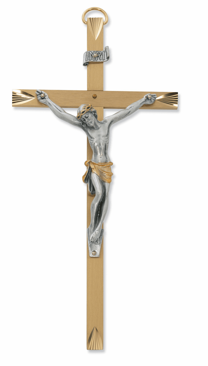 Brass & Metal Crucifixes & Crosses