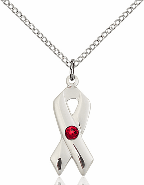 Cancer Awareness Birthstone Pendants and Necklaces