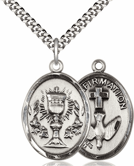 Chalice Confirmation Pewter Necklace by Bliss Manufacturing