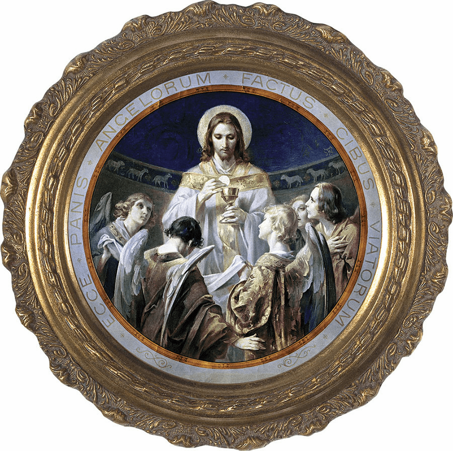 Christ, Bread of Angels Canvas Wall Art by Nelson