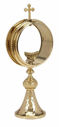 Clear Monstrance with Luna by Stratford Chapel