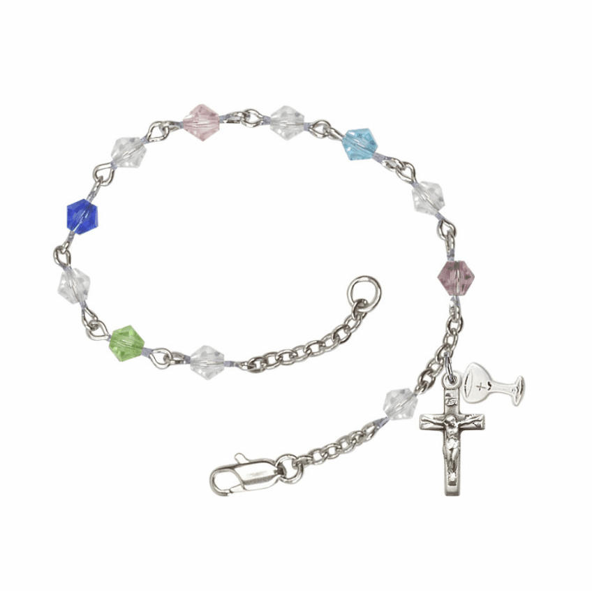 Communion Bangles and Rosary Bracelets