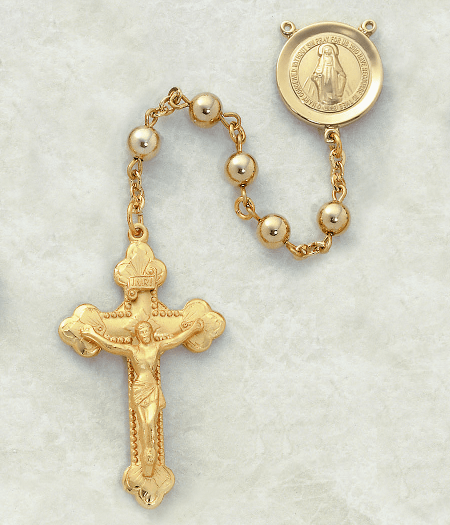 Creed 14kt Catholic Prayer Rosary