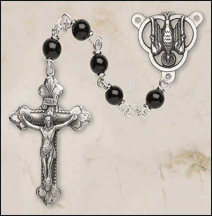 Creed Black Confirmation Holy Spirit Italian Prayer Rosary