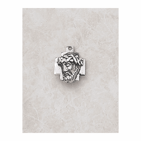 Creed Jewelry Head of Christ Medal Necklace