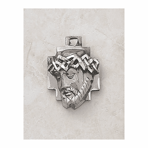 Creed Jewelry Sterling Silver Head of Christ Medal