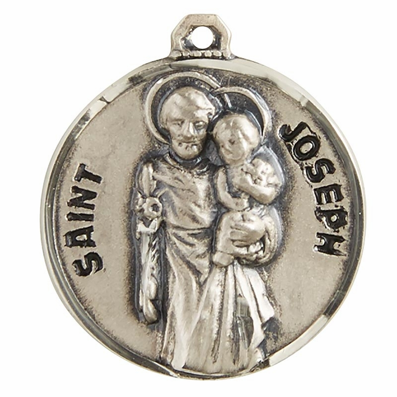 Creed Male Patron Saint Medal Jewelry
