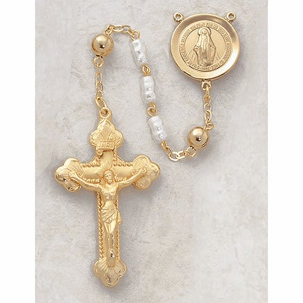 Creed Pearl & Mother of Pearl Rosaries
