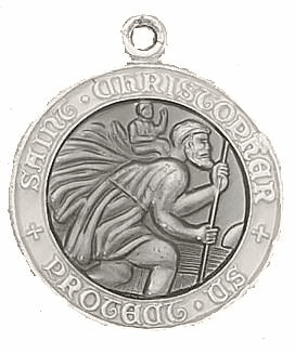 Creed St Christopher Medals