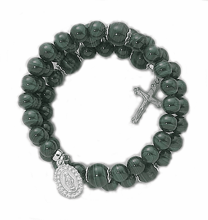 Creed Wrap-Around 5 Decade Rosary Bracelets