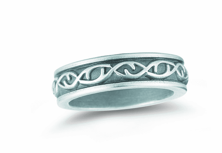 Crown of Thorns Sterling Silver Ring