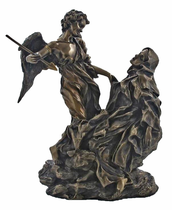 Ecstasy of St Teresa of Avila Cold-Cast Bronze Statue by Veronese Collection