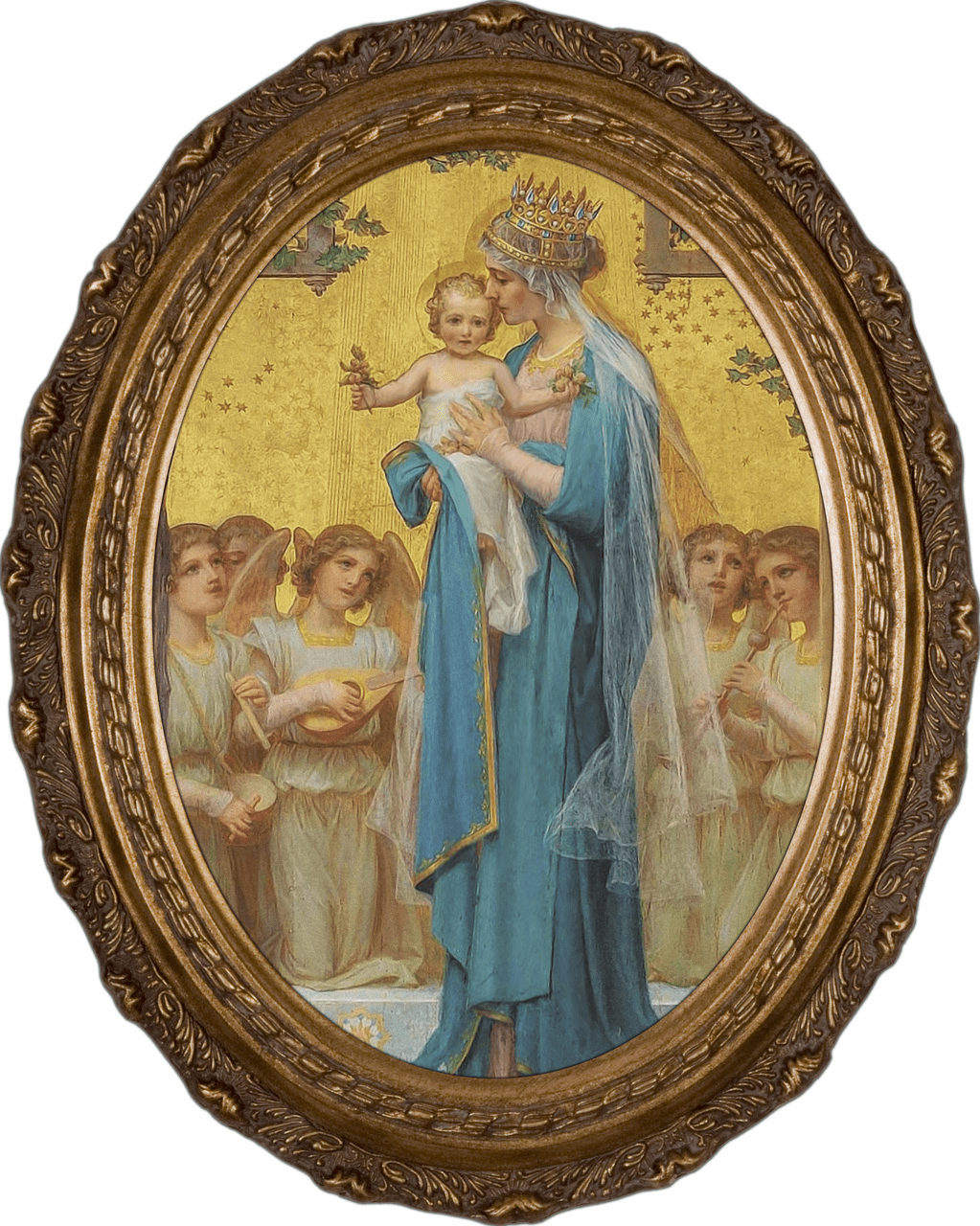 Enric M. Vidal Madonna and Child Canvas Wall Art by Nelson