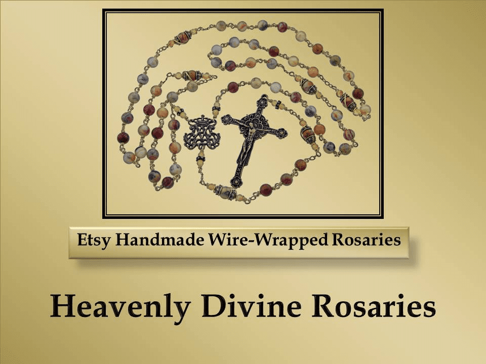 Etsy Handmade Rosaries by Heavenly Divine