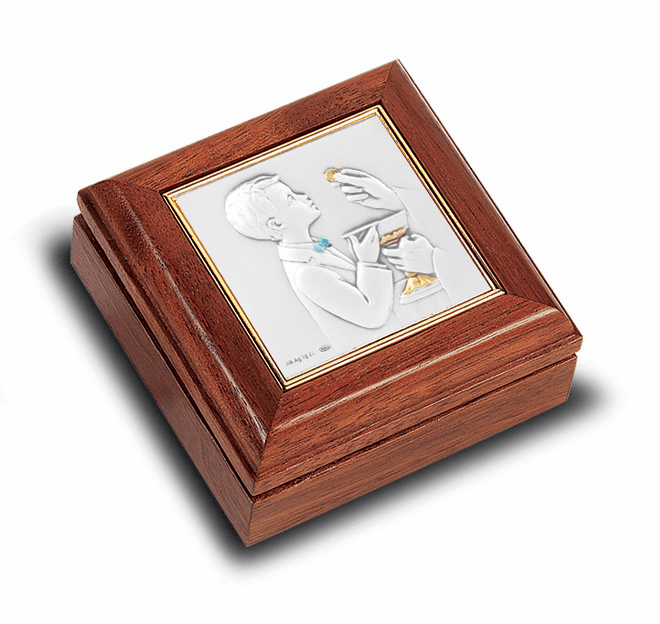 First Holy Communion Rosary and Keepsake Boxes