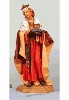 "Fontanini 27"" Scale Nativity Figures"