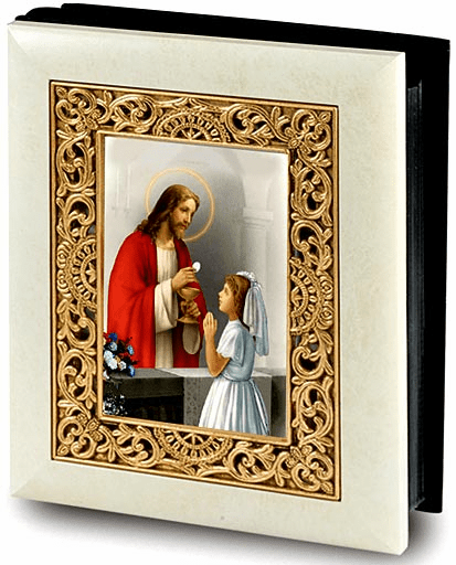 Girl's First Holy Communion Photo Album