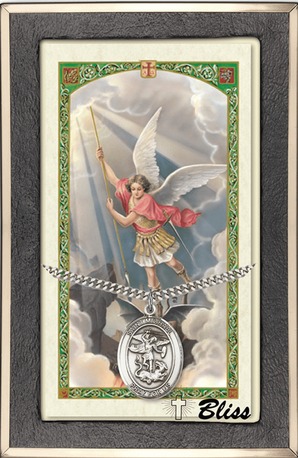 Guardian Angel Prayer Card & Necklace Gift Sets