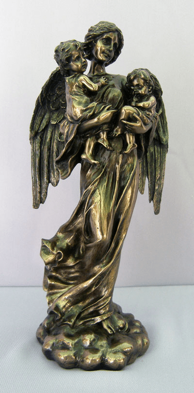 Guardian Angel with Children Statue by Veronese