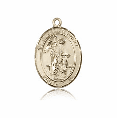Guardian Angels 14kt Gold Medals