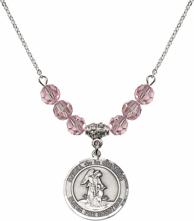 Guardian Angels Beaded Necklace Jewelry