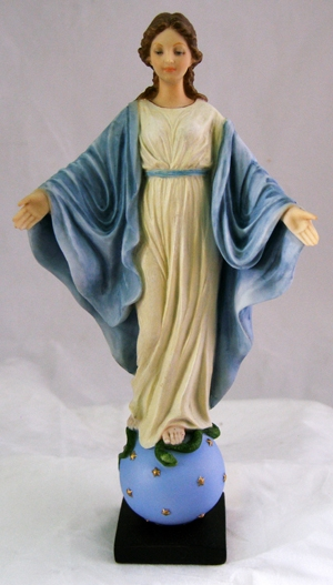 Hand-Painted Our Lady of Smiles Figurine by Veronese Collection