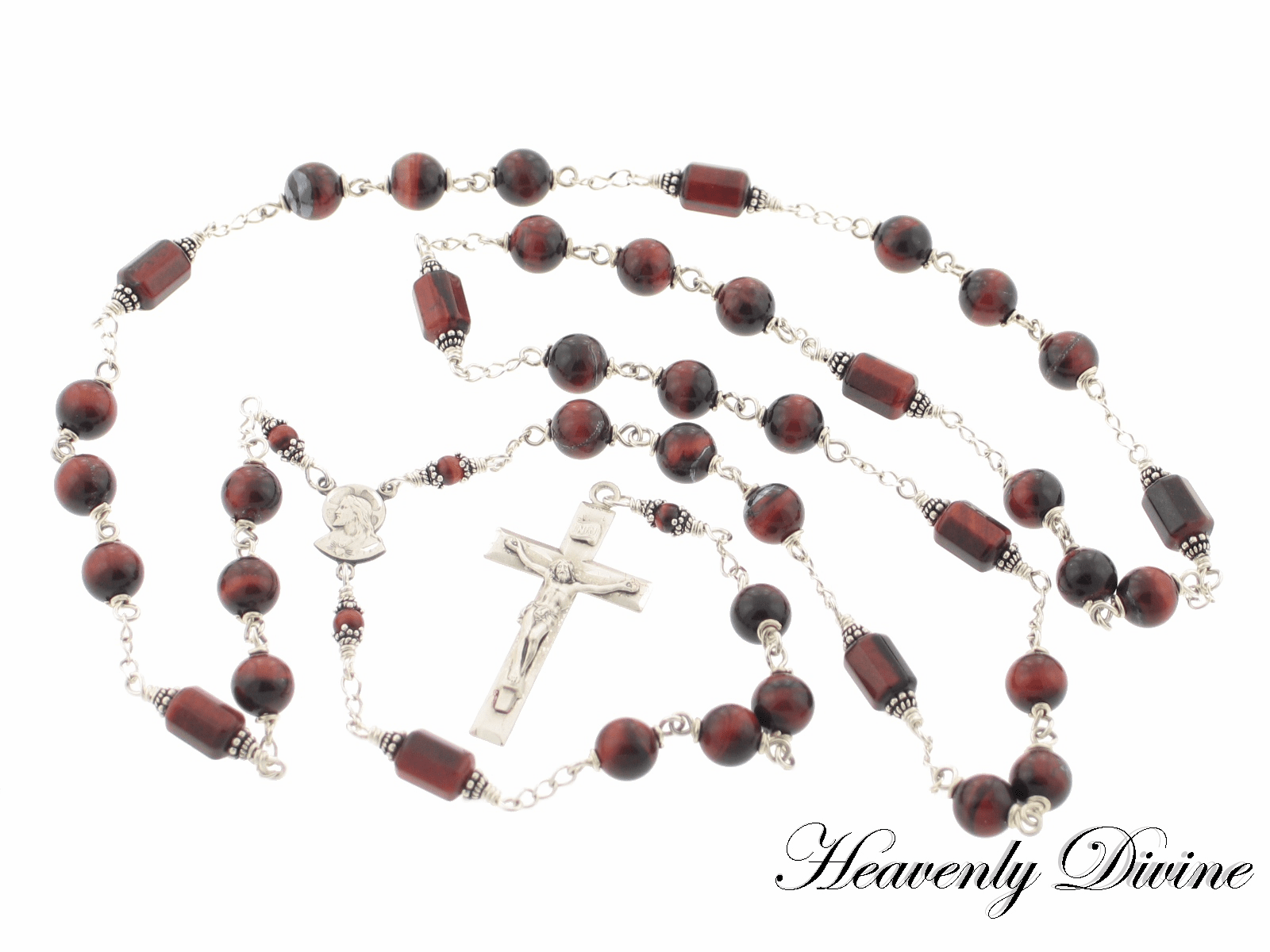 Handmade Chaplet of the Holy Angels - Guardian Angel Chaplet by Heavenly Divine
