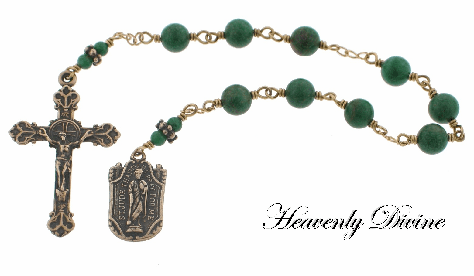 Handmade Saint Jude Thaddeus Chaplet by Heavenly Divine