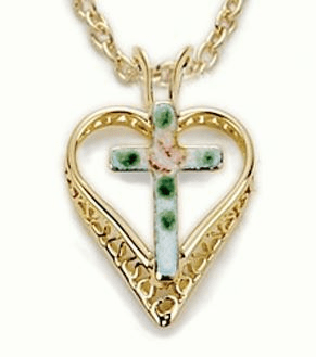 Heart Christian Necklaces