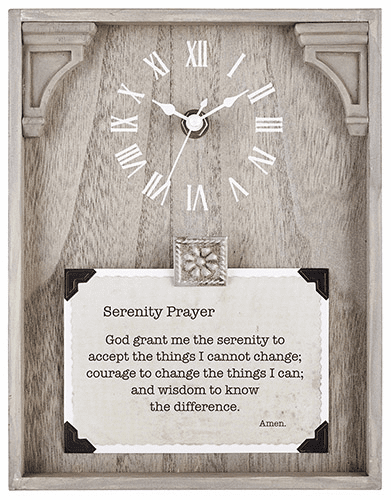 Heartfelt LoveLea Moment Clock Collection w/Christian Verses