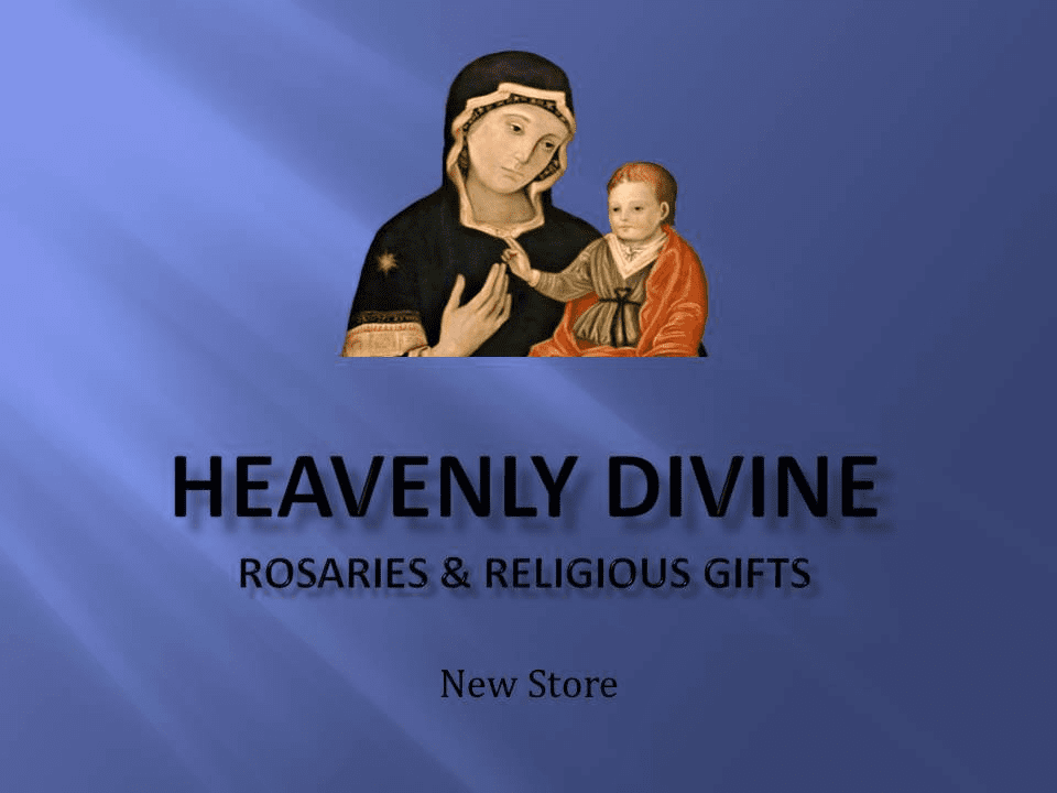 Heavenly Divine Rosaries and Religious Jewelry