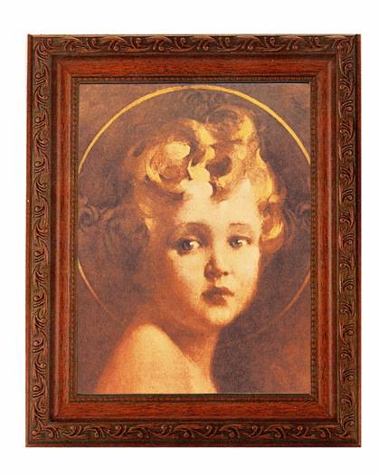 Hirten Chambers Light of the World Detailed Ornate Antique Mahogany Finished Framed Picture