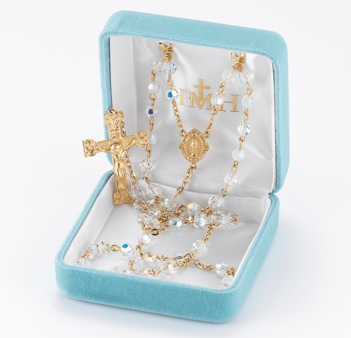 HMH Religious 14kt Gold and Gold over Sterling Silver Rosaries