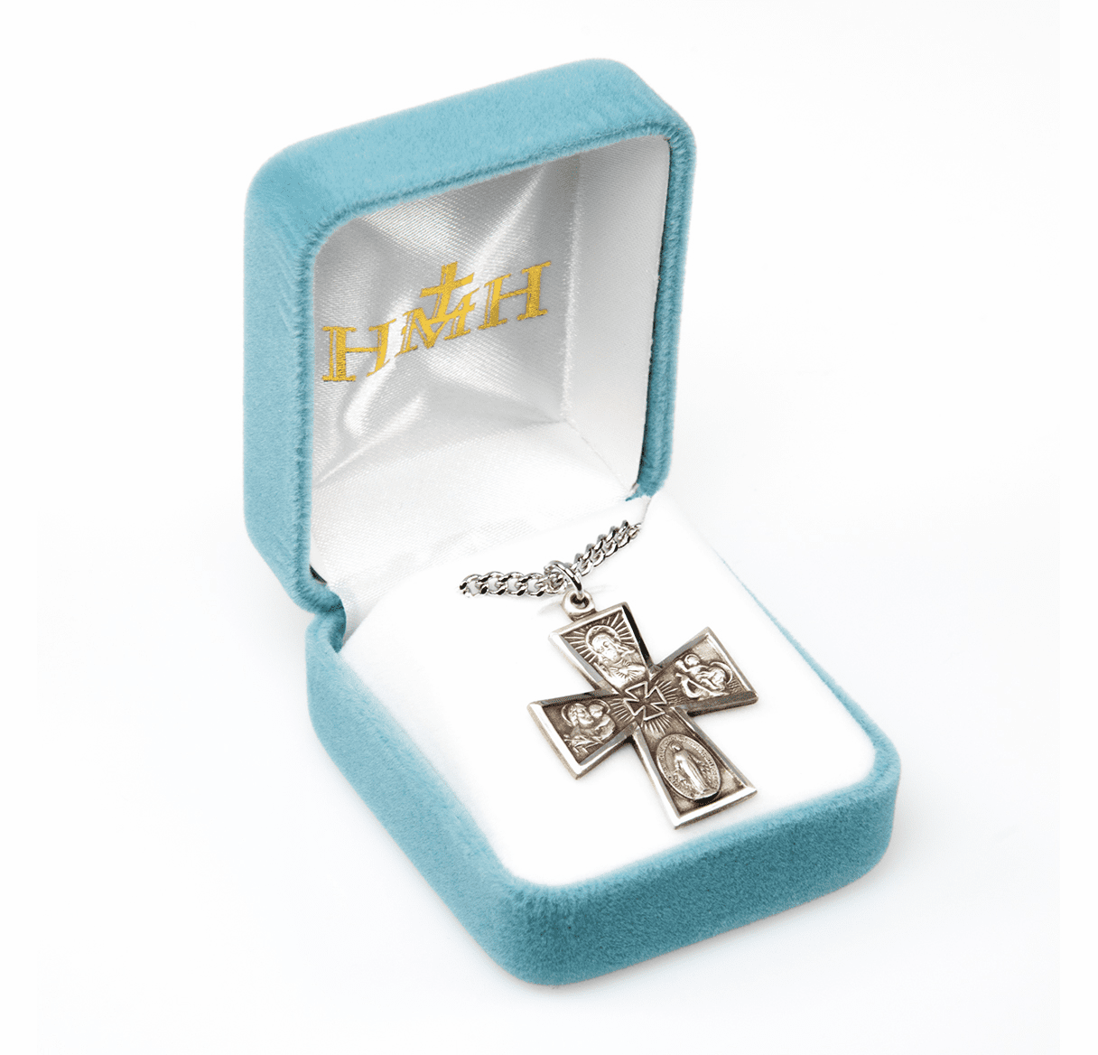 HMH Religious 4-Way Cross Medals