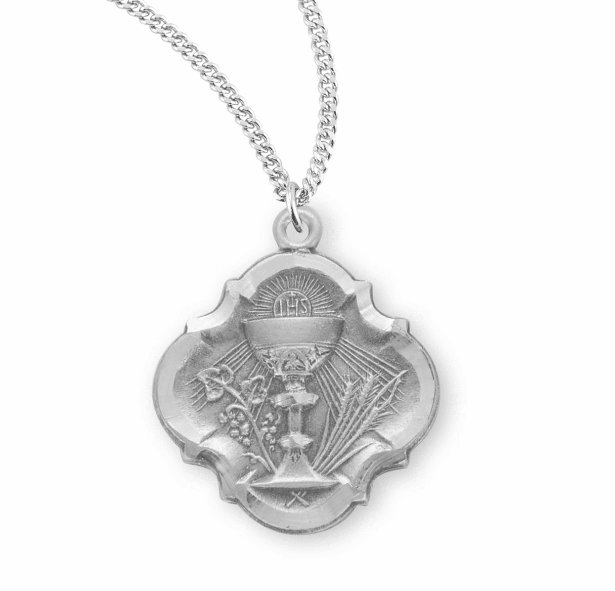 HMH Religious Baroque Chalice First Holy Communion Necklace