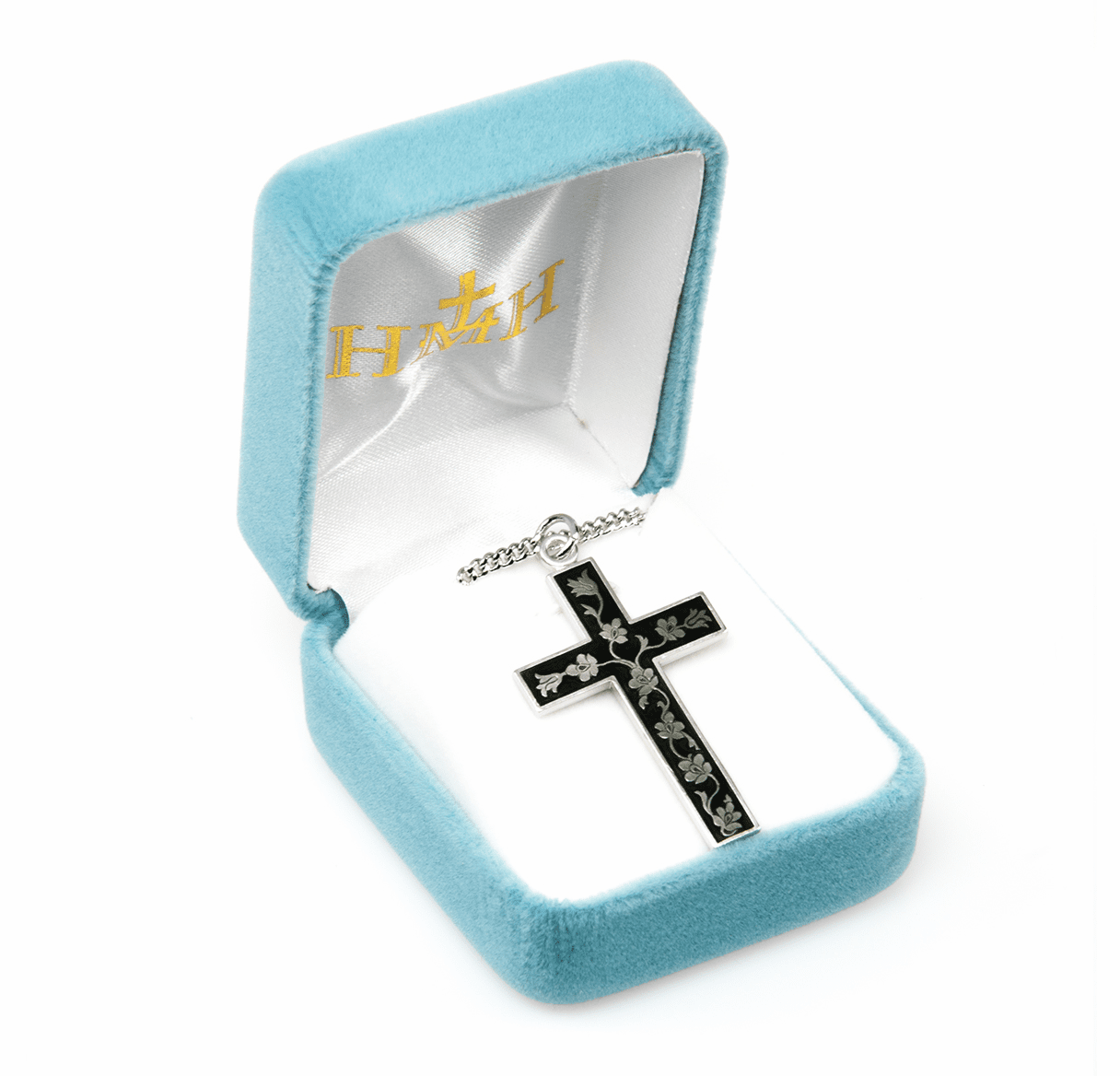 HMH Religious Enameled Christian Cross Necklaces