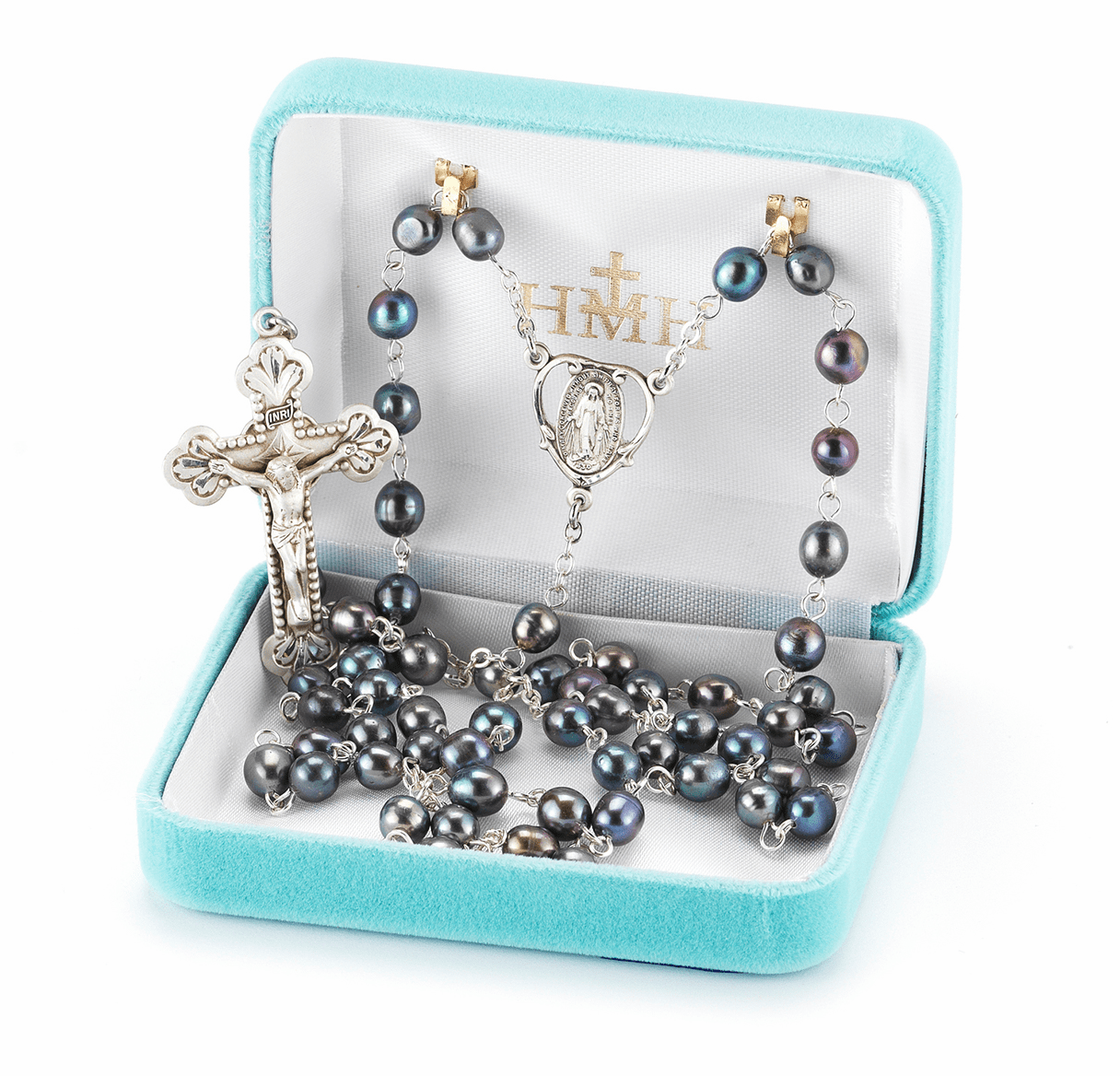 HMH Religious Freshwater & Faux Pearl Rosaries