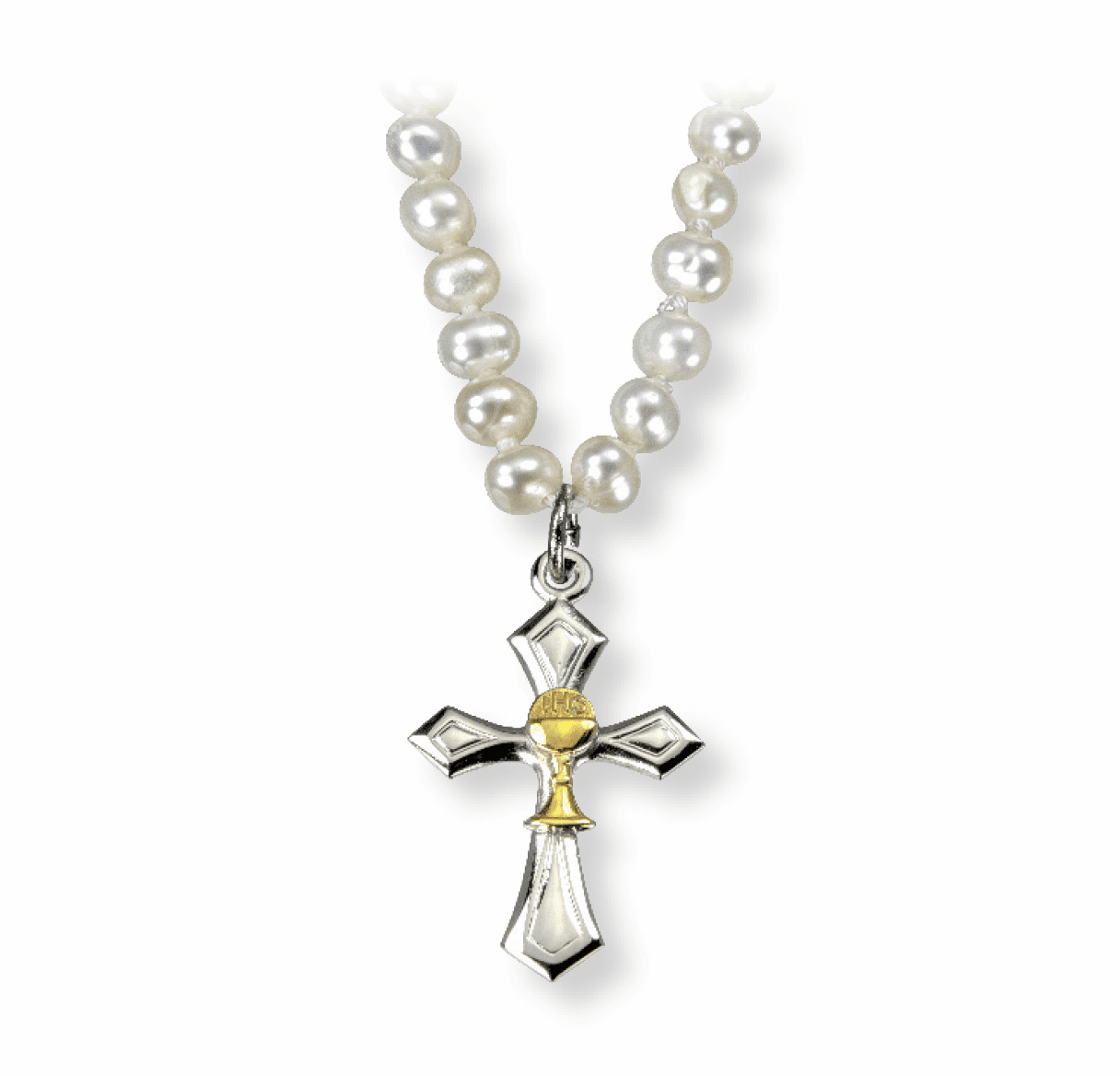 HMH Religious Freshwater Pearl and Faux Pearl Jewelry