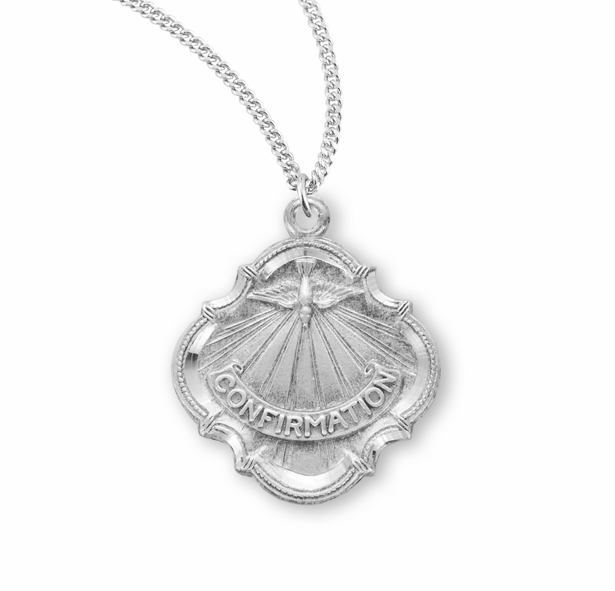 HMH Religious Gifts of the Holy Spirit Confirmation Medal Necklace