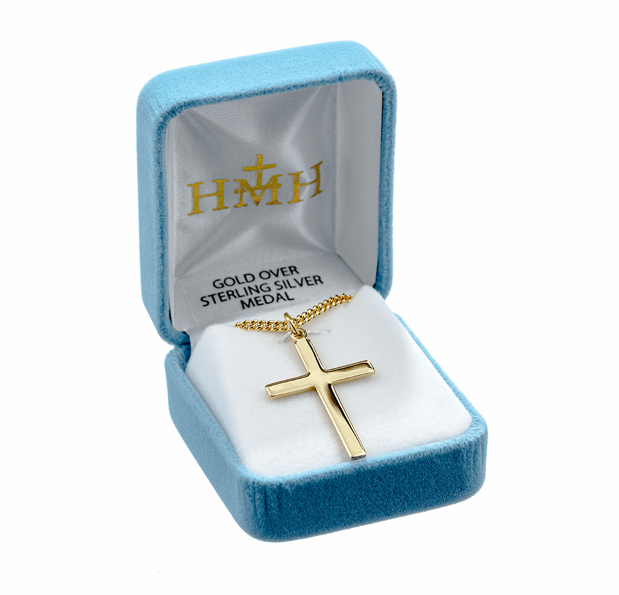 HMH Religious Gold/Sterling Crosses
