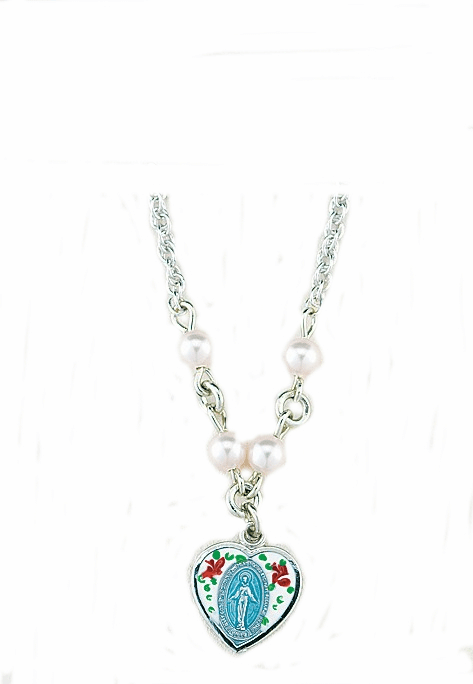 HMH Religious Holy First Communion Beaded Necklaces
