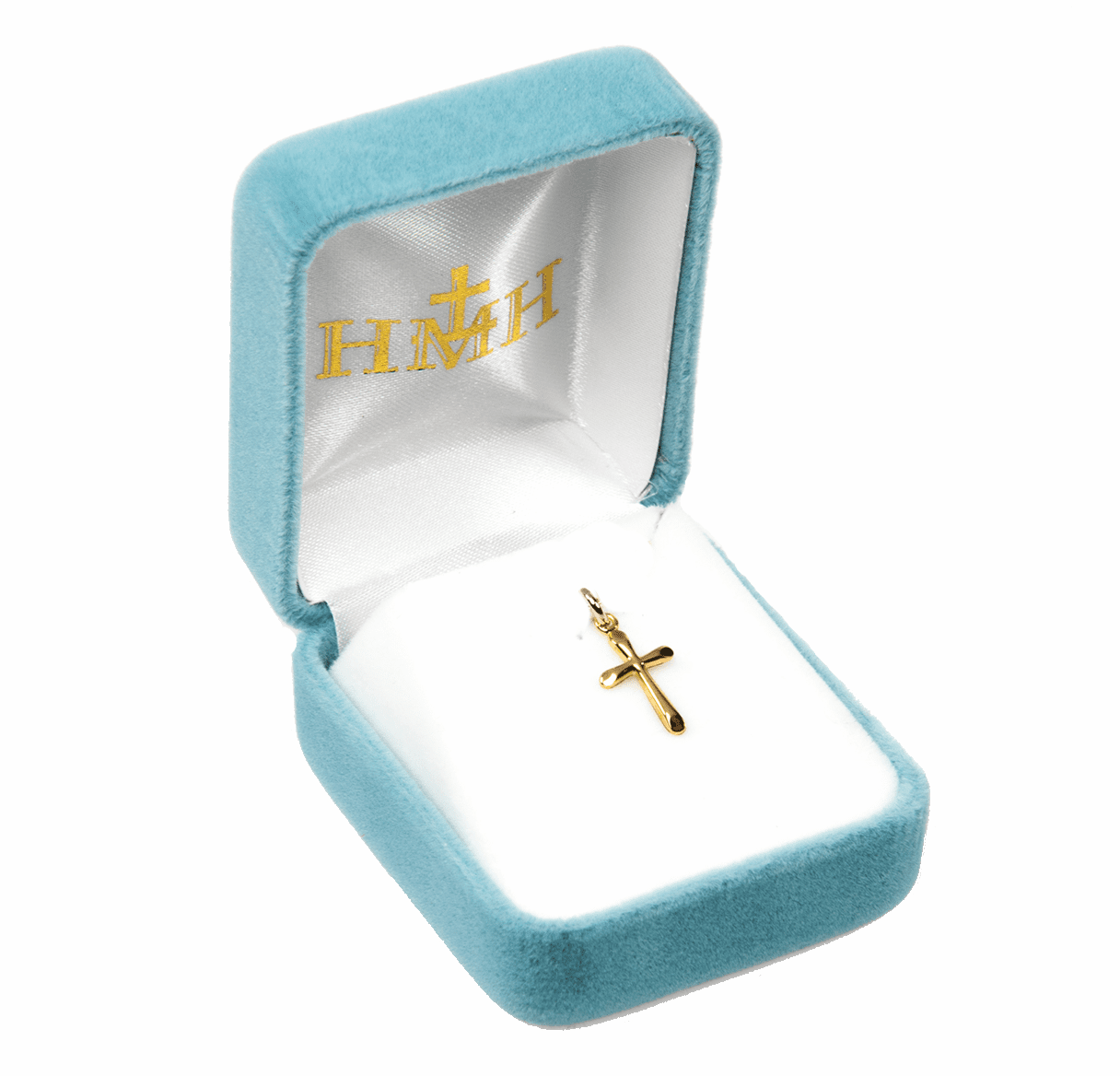 HMH Religious Solid 14kt Gold Crucifix and Cross Jewelry