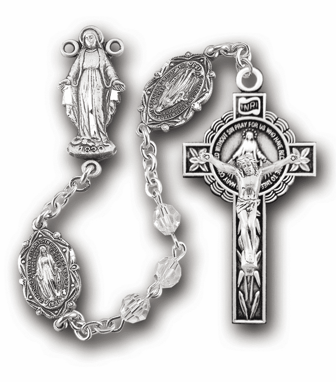 HMH Religious Sterling Silver Rosaries