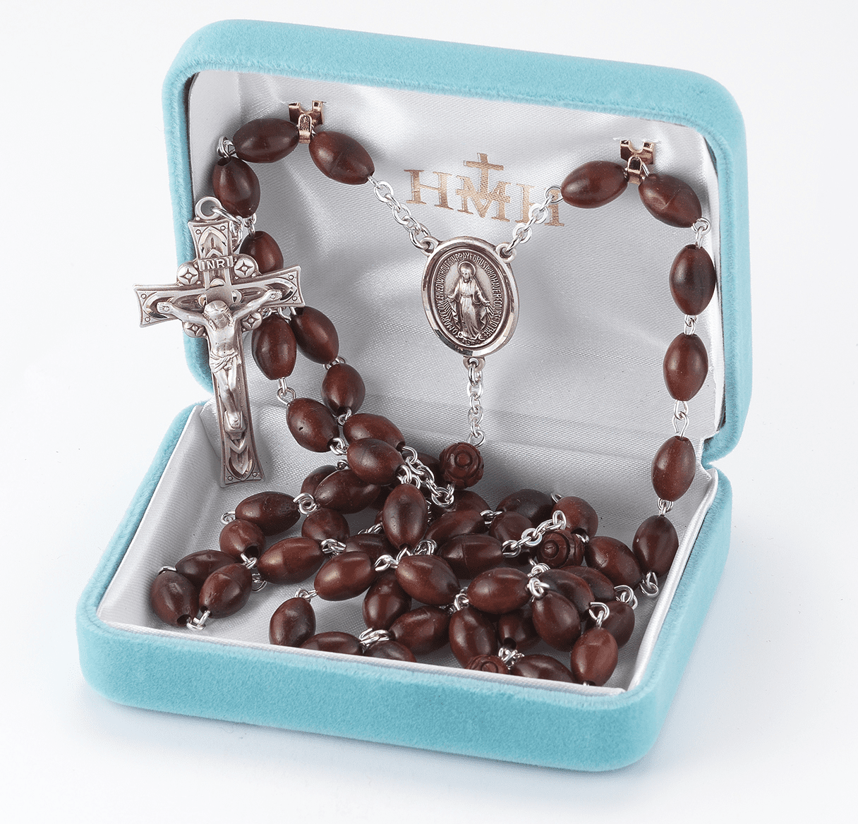 HMH Religious Wood Rosaries