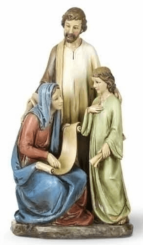 Holy Family with Teaching Jesus Figure Statue by Joseph Studio