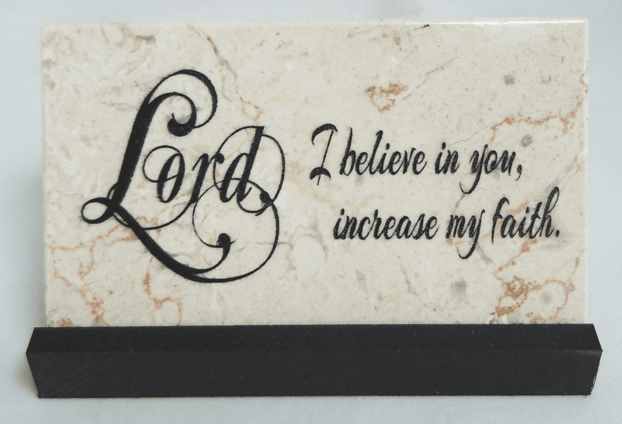 Holy Land Stone Christian Prayer Stones