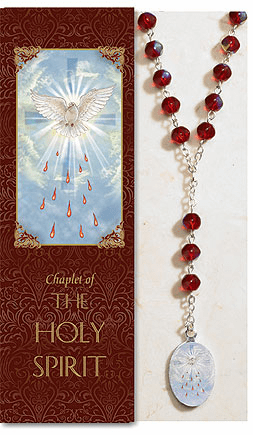 Holy Spirit Catholic Prayer Chaplet Sets 3ct by Milagros