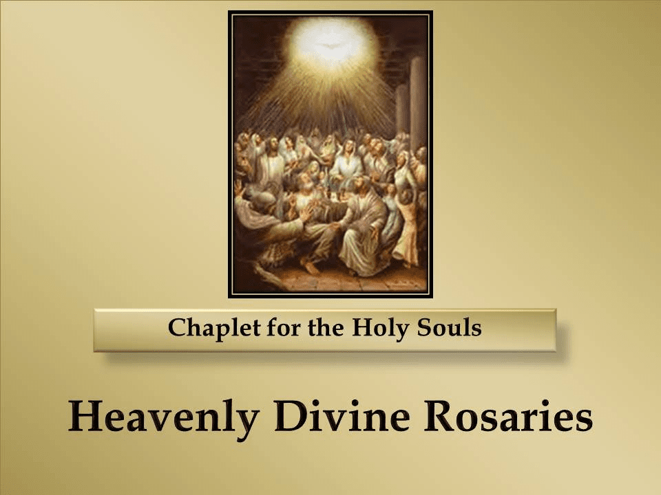 How to Pray the All Souls Rosary Chaplet