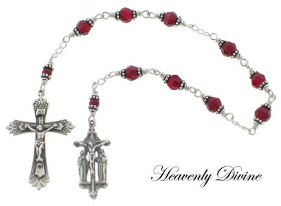 How to pray the Chaplet of the Crucifixion