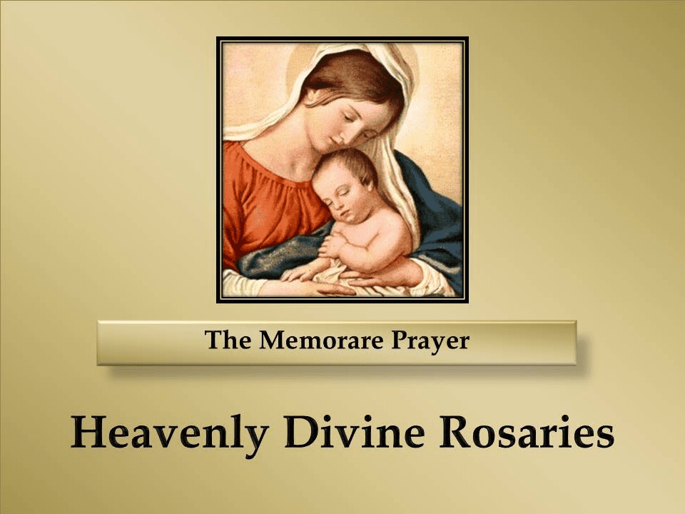 How to Pray The Memorare Prayer